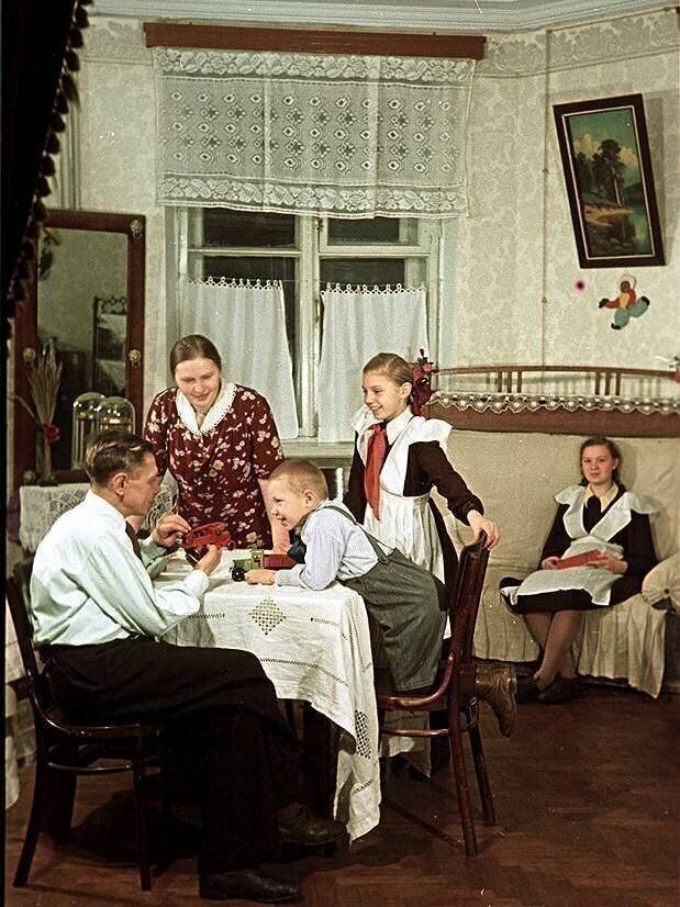 Теплые и душевные фотографии из советского прошлого