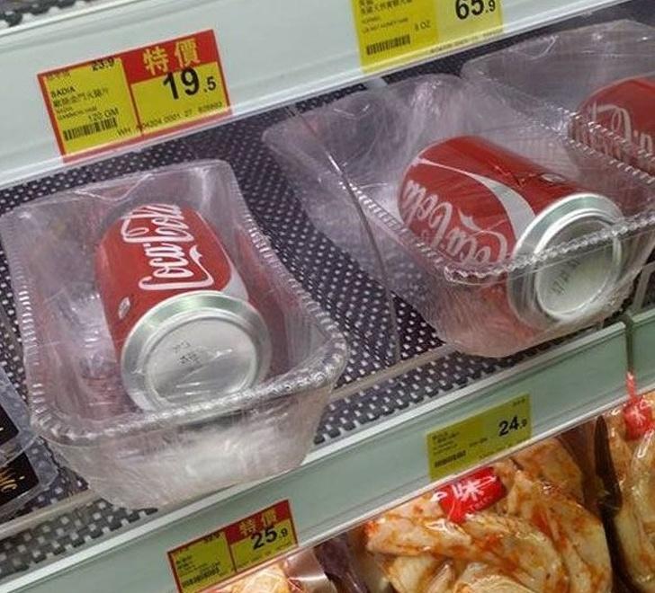 Возмутительные примеры избыточности упаковки