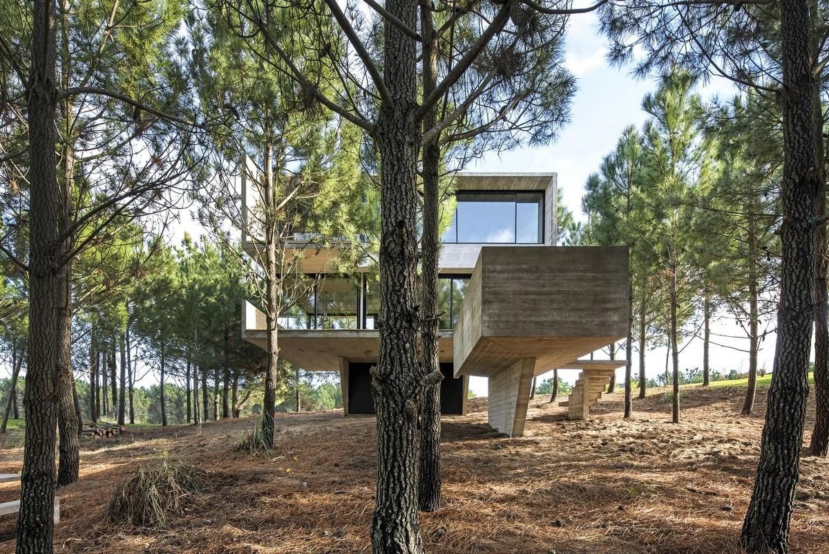 Частный дом возле моря в Аргентине