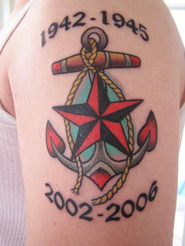 Что означают различные татуировки моряков
