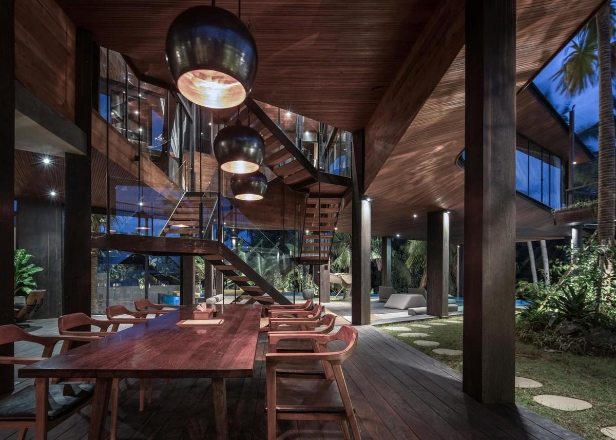 Модернистская вилла на острове Бали