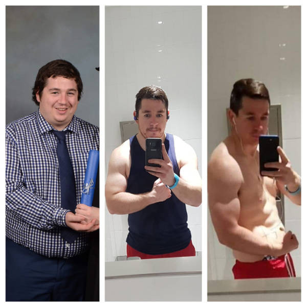 Мужчины, которые захотели и смогли похудеть