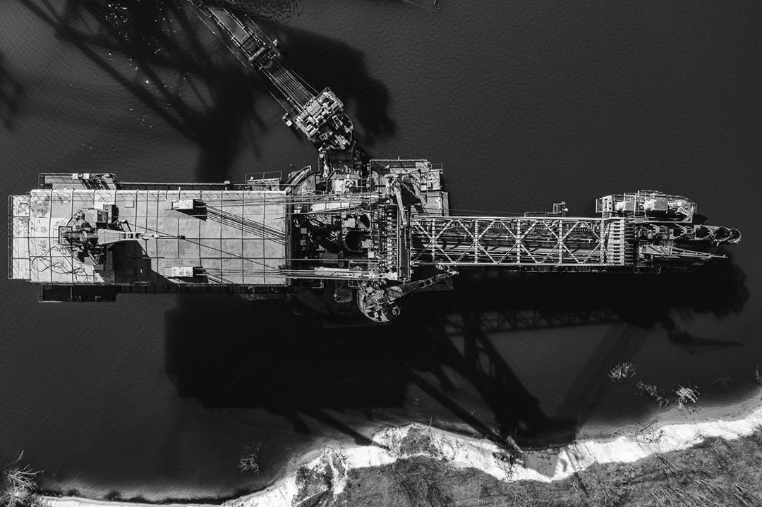 Промышленные пейзажи Украины с высоты от Григория Веприка