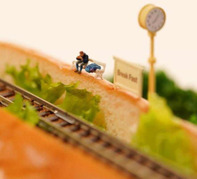 Новые миниатюрные творения от Танаки Тацуя