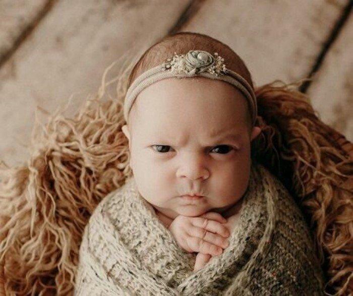 25 младенцев, которые уже сразу родились взрослыми