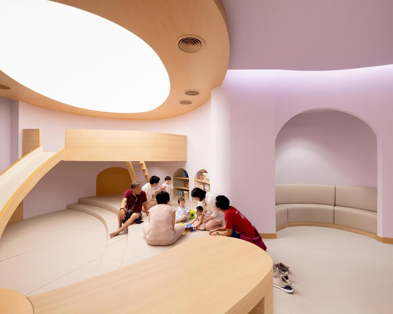 Современная детская больница в Таиланде