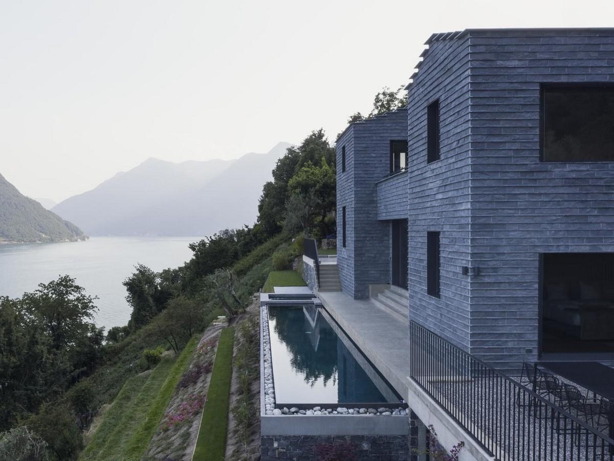 Частный дом на берегу озера Комо в Италии