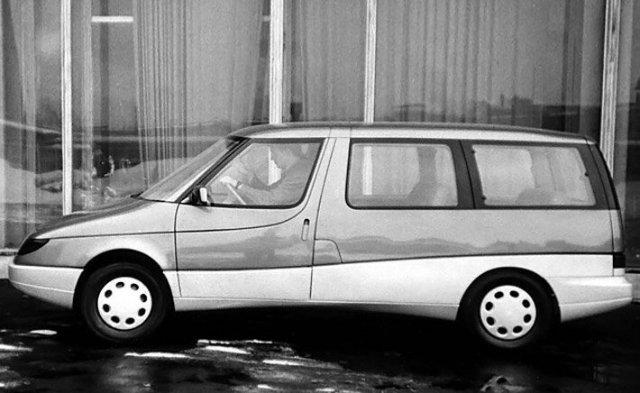 Необычные автомобильные концепты времён СССР