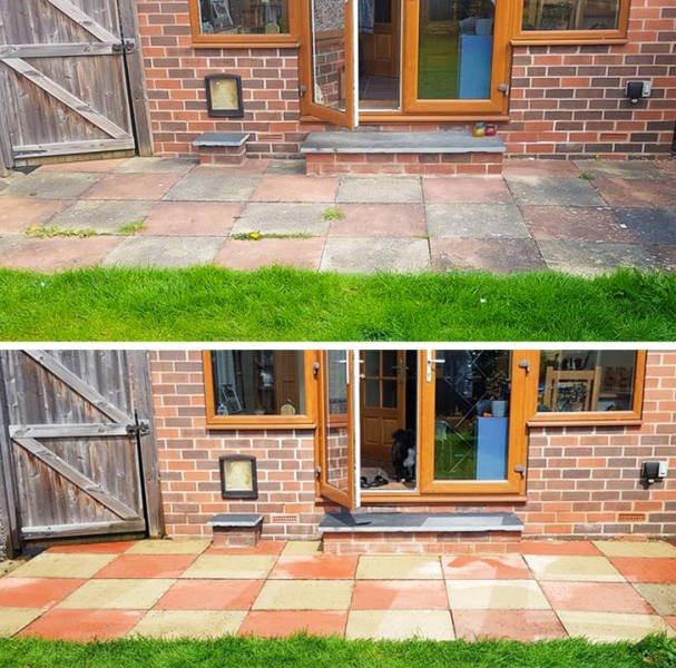 Различные вещи на снимках до и после чистки