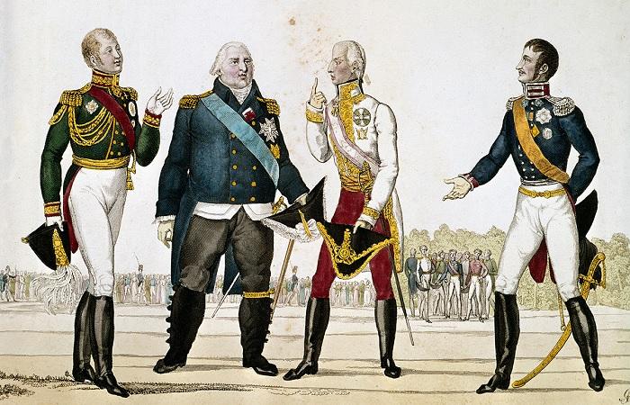 Французский король Людовик XVIII, которого дважды выдворили из России