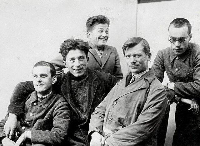Подборка разных снимков 1920-х годов