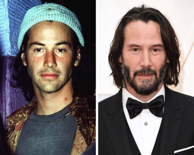 Знаменитые красавцы 1990-х на снимках тогда и сейчас