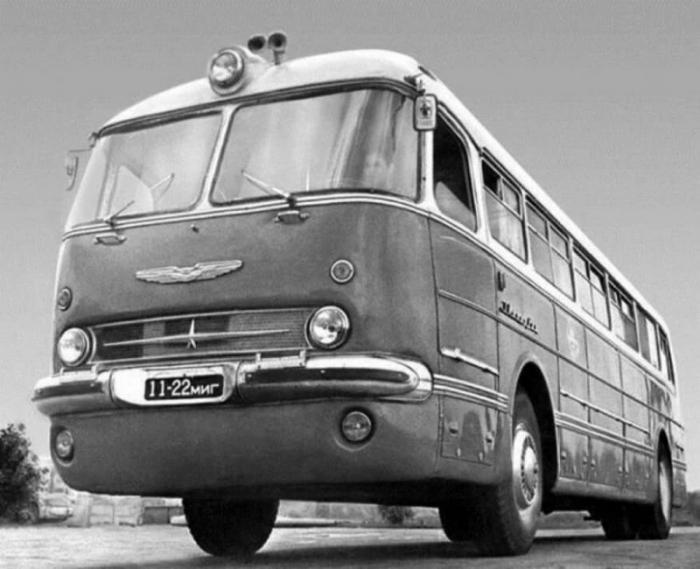 Автобус Ikarus 55 - венгерский красавец по прозвищу Ракета