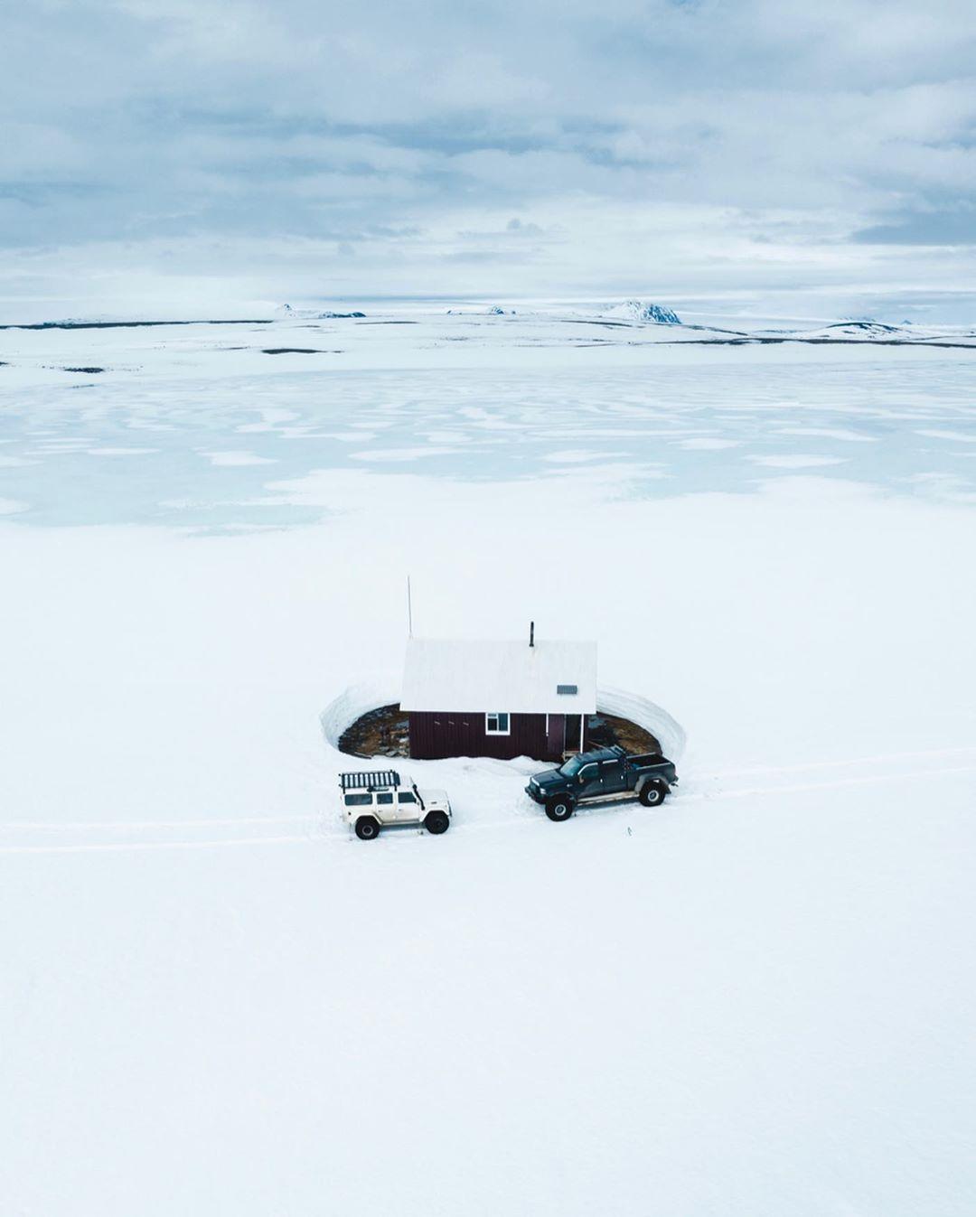 Удивительные аэрофотоснимки из путешествий Бенджамина Хардмана