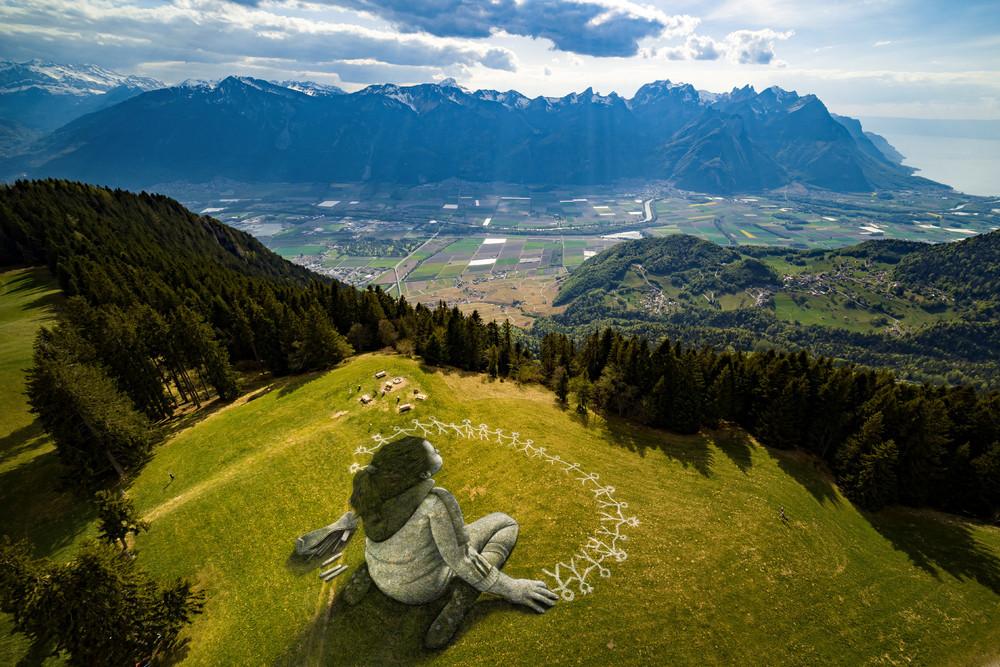Красота мира с высоты птичьего полёта на снимках
