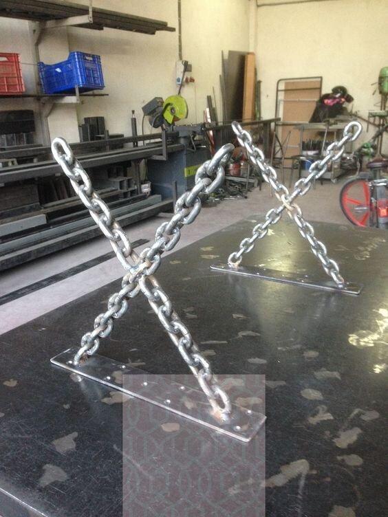 Необычные и брутальные поделки из стали