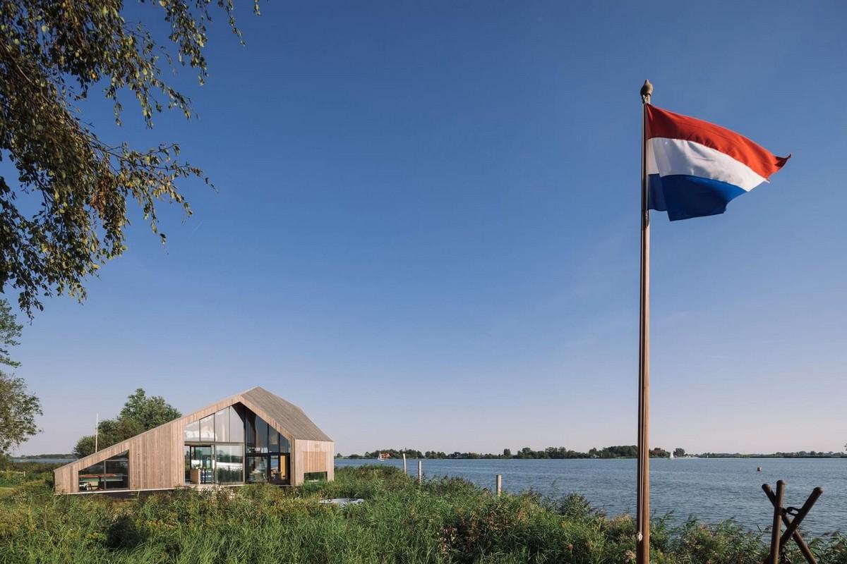 Дом для отдыха на берегу в Нидерландах
