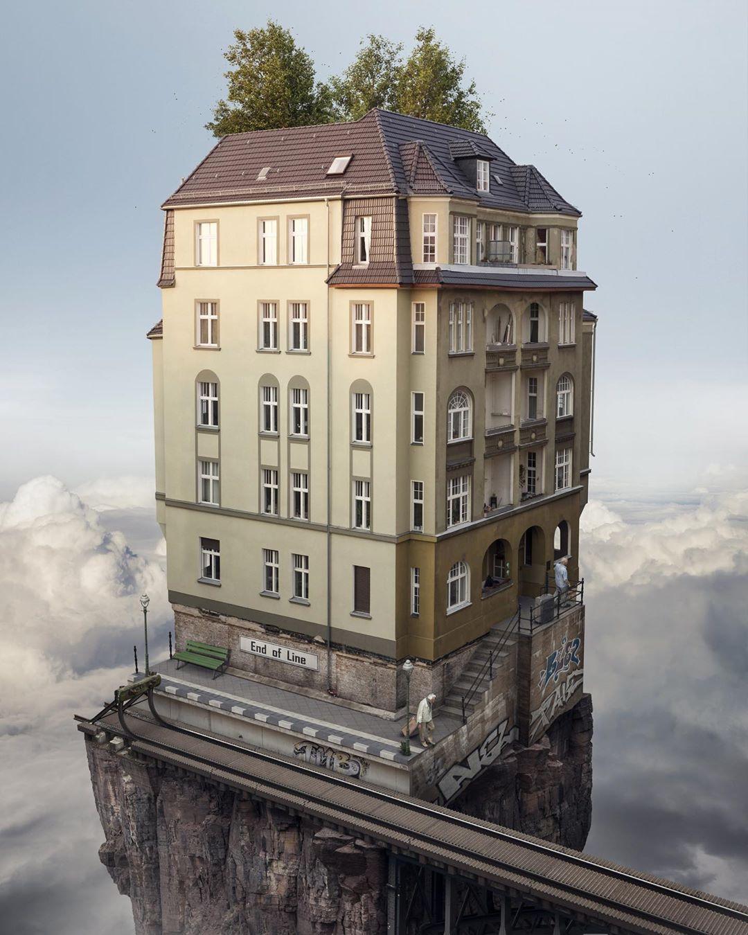 Новые сюрреалистические фотоманипуляции от Эрика Йоханссона