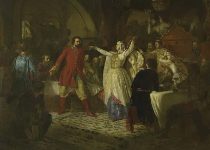 Скандал на свадьбе: история появления 5 картин по одному сюжету