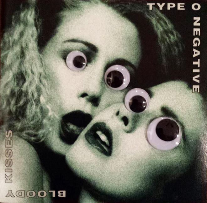 Забавные обложки метал-групп с наклеенными глазами