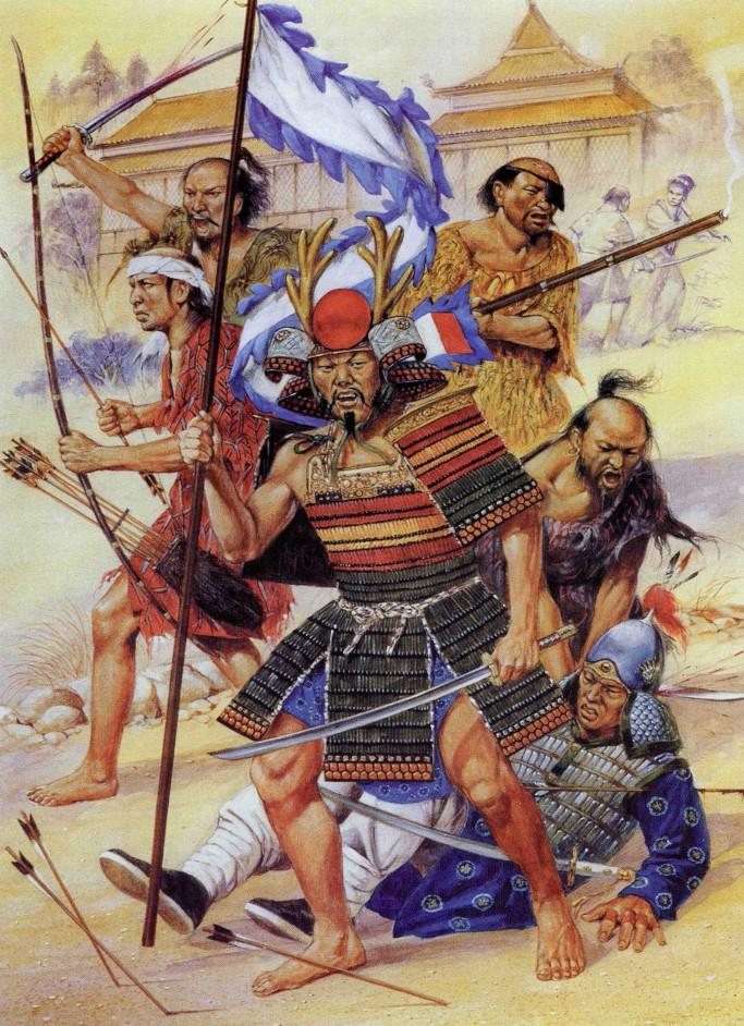 История японских пиратов вокоу  (ФОТО)
