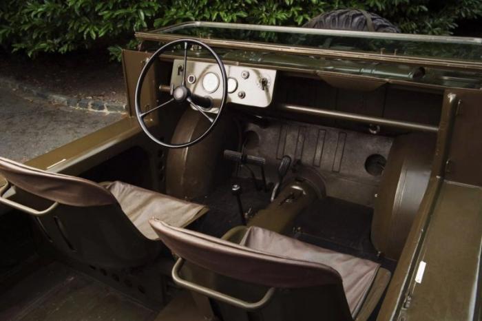 Необычный Porsche 597 Jagdwagen 1955-1958