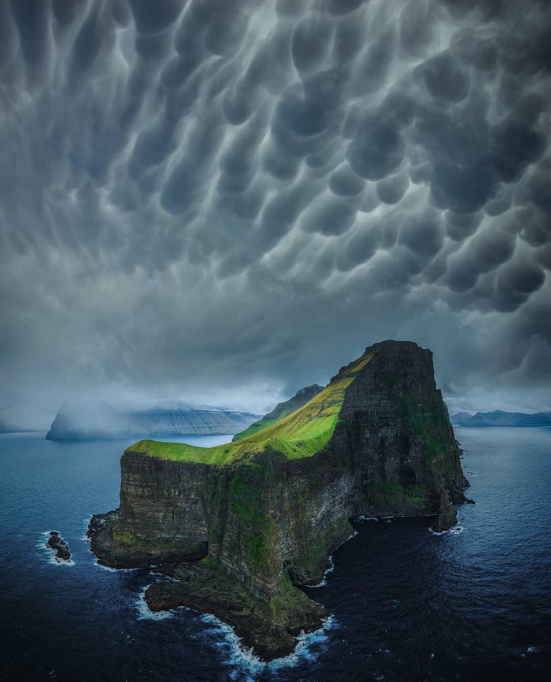Штормы, молнии и звезды на пейзажных снимках Брента Шавнора