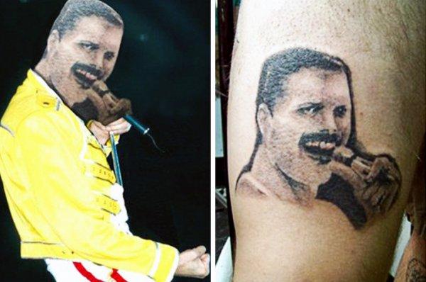 Немного смешных и провальных татуировок