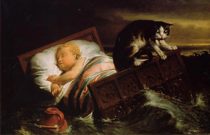 Правда и вымысел на картине Альма-Тадемы Наводнение в Бисбосе в 1421 году