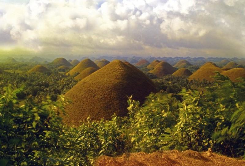 Удивительные ландшафты словно с другой планеты (ФОТО)