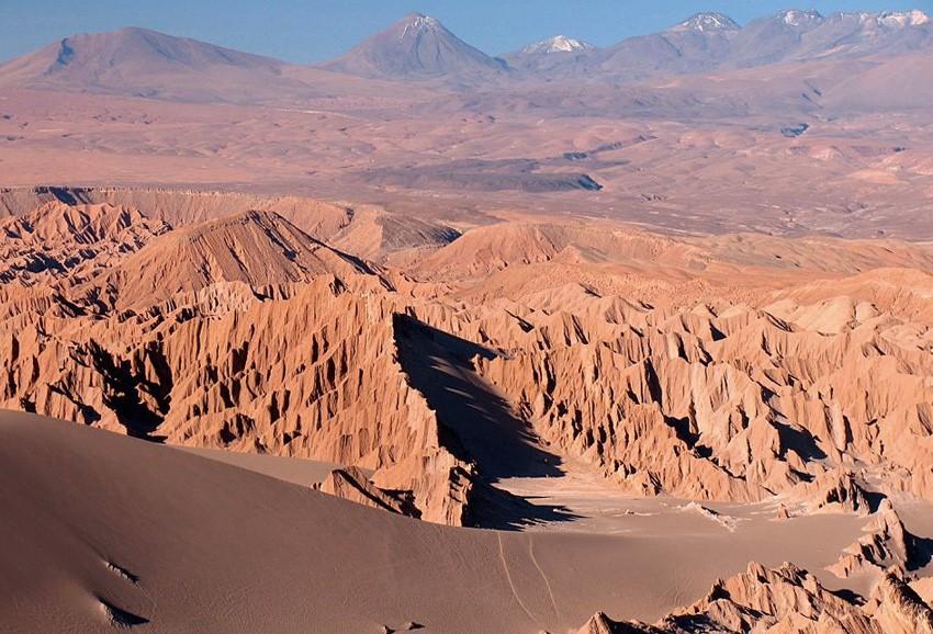 Удивительные ландшафты словно с другой планеты
