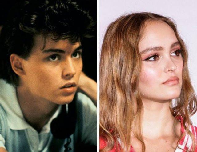 Дети знаменитостей, которые невероятно похожи на родителей
