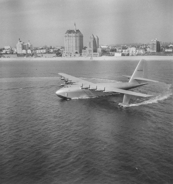 Самолёт Хьюз H-4 Геркулес - деревянный гигант