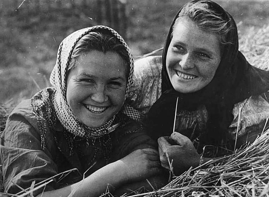 Советские женщины 1950-х годов на снимках