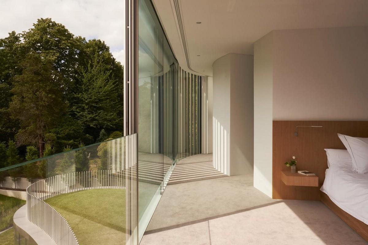 Вдохновлённый дубом и пейзажем особняк в Лондоне