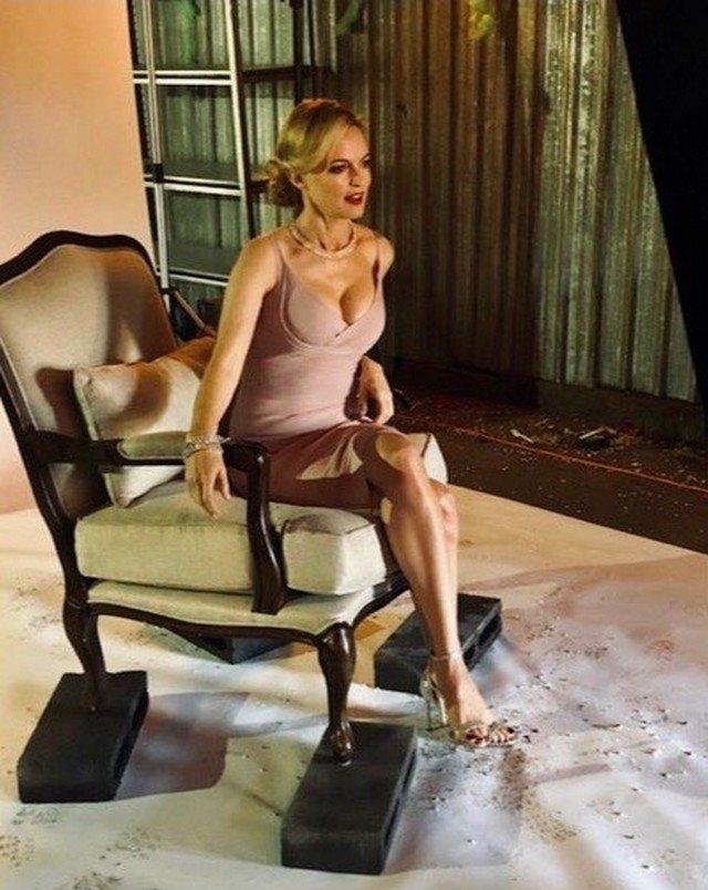 Хизер Грэм - звезда фильма Остин Пауэрс показала стройное тело
