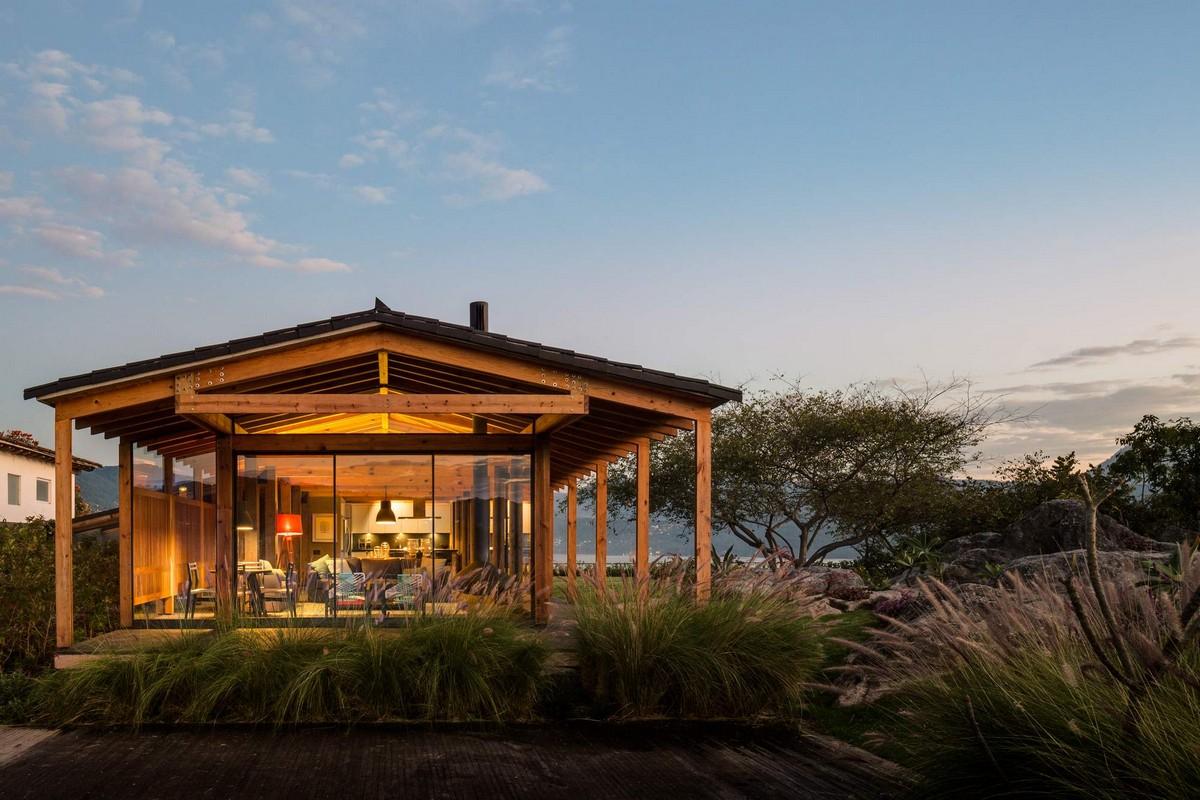 Современная резиденция в окружении природы в Мексике