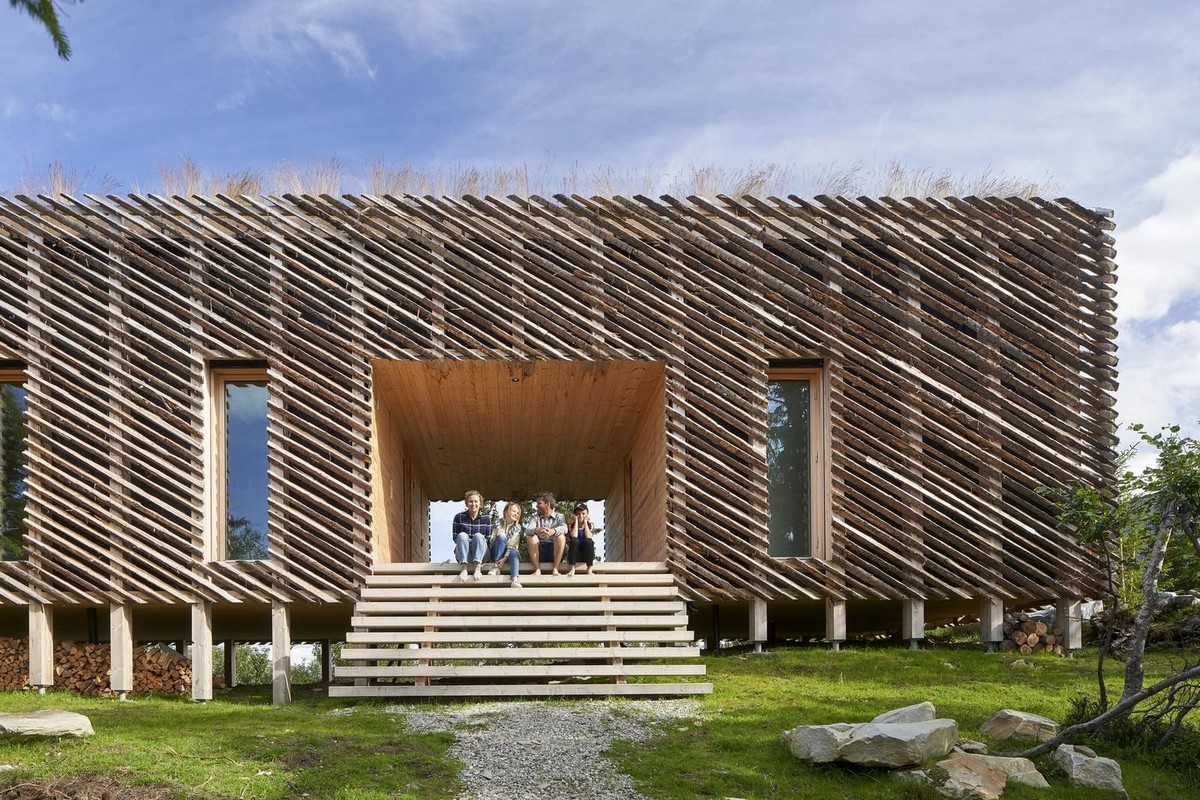 Загородный дом в горах Норвегии