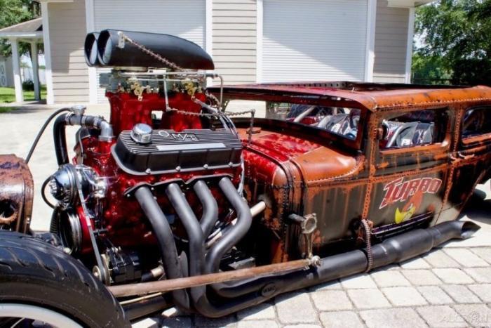 Безумный Ford A Rat-God из мастерской FSD Hot Rad Ranch