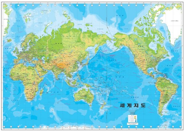 Как выглядят карты мира из разных стран