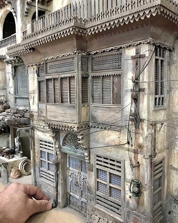 Миниатюрные здания от сирийского художника Абдурахмана Ида