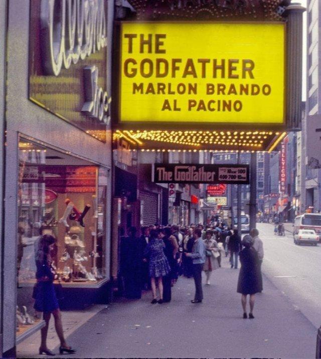 Нью-Йорк на атмосферных фотографиях прошлого века