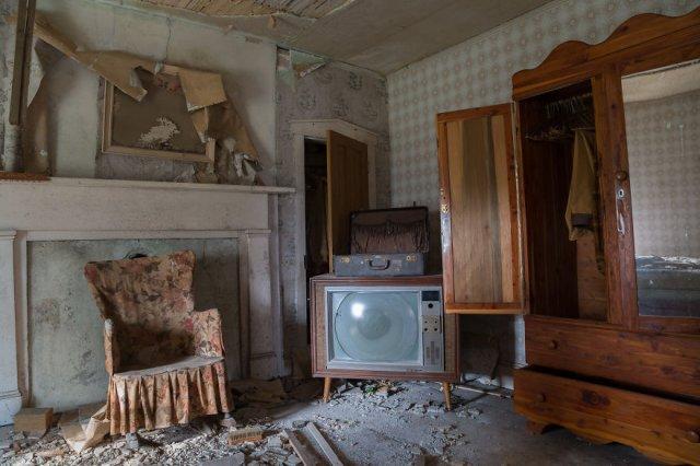 Заброшенный дом полковника, участвовавшего в Гражданской войне в США