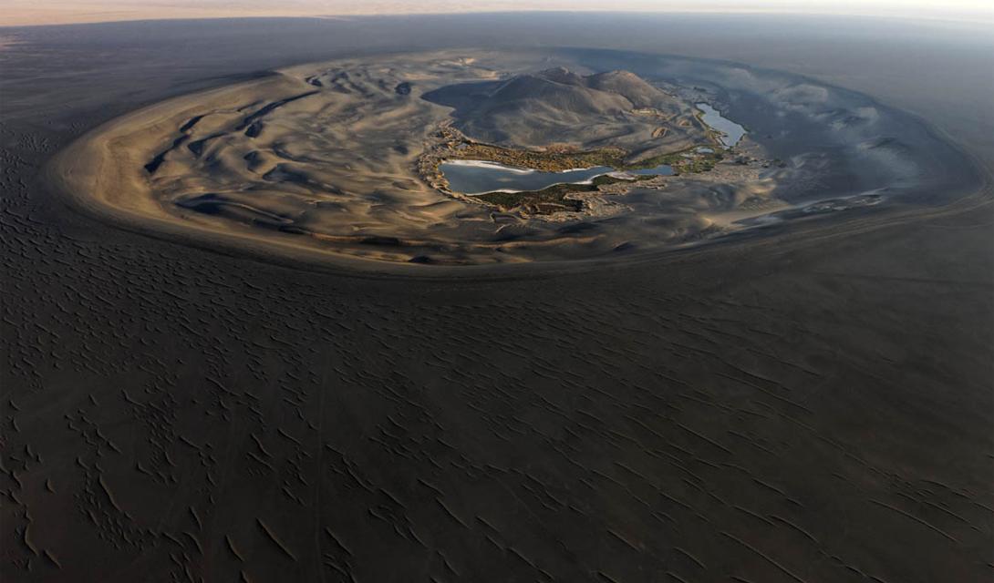 Как пустыня Сахара выглядела 5000 лет назад
