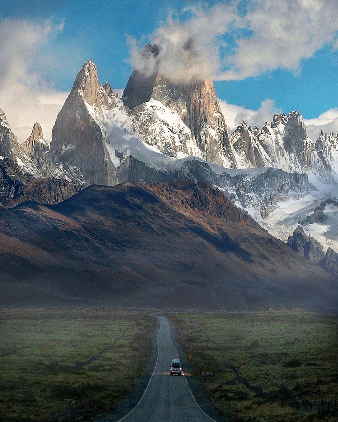 Красивые пейзажи из путешествий Сэма Вибово