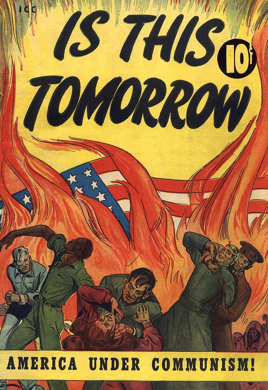 Плакаты, которые демонизировали СССР в капиталистическом мире