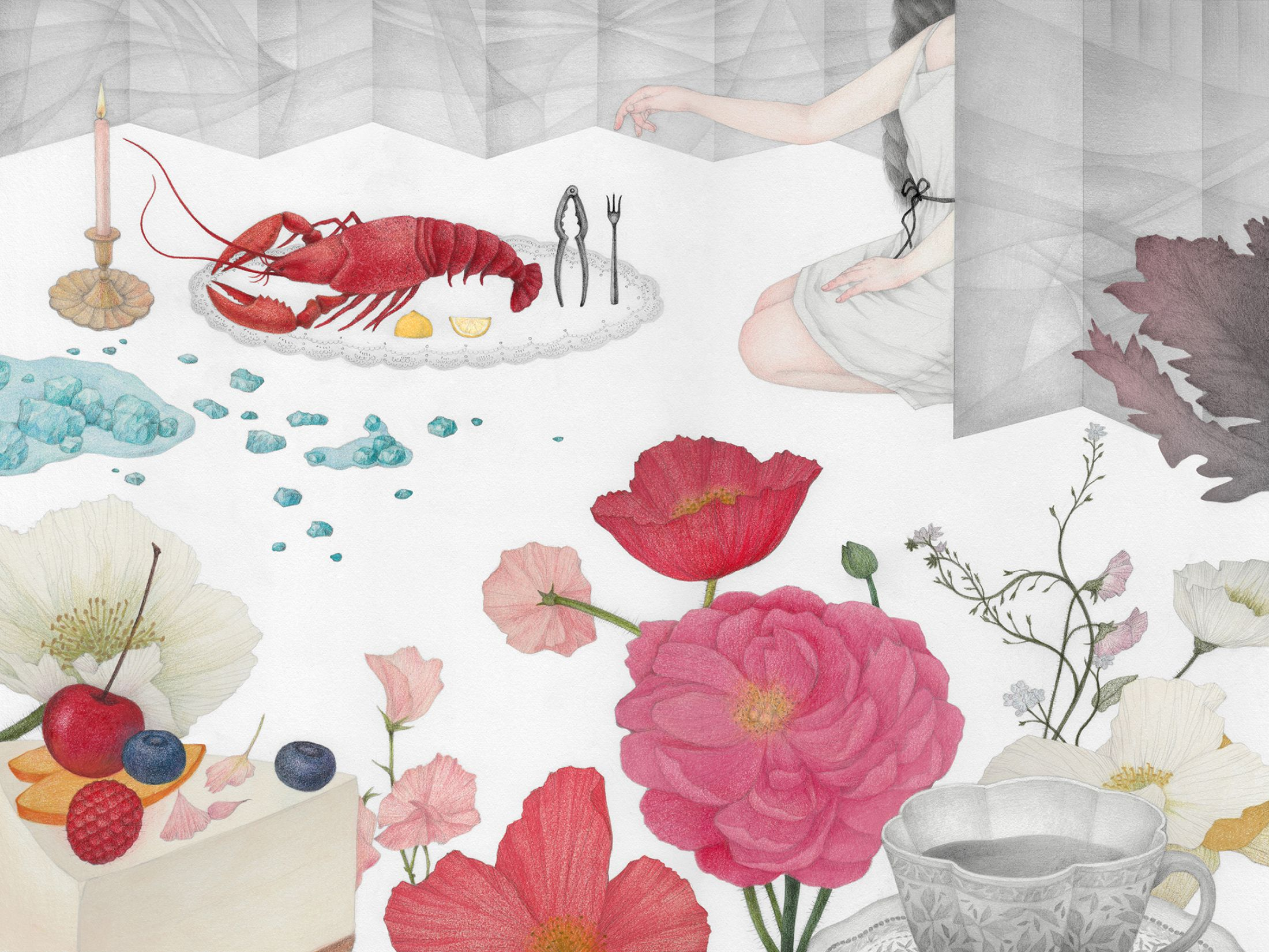 Нежные иллюстрации от Вики Линг
