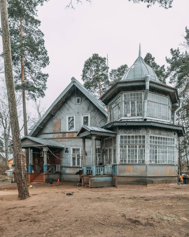 Дореволюционные петербургские дачи, как произведение архитектурного искусства