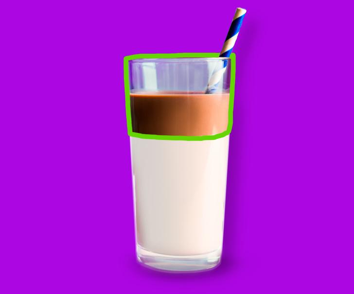 Какую часть занимают 100 калорий в популярных продуктах