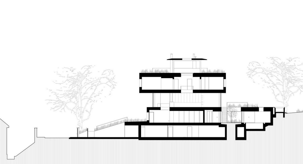 Пятиэтажная резиденция в Праге